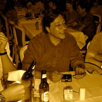 Em 2007 com os produtores Lazzarini e Wilson Medeiros, na Record