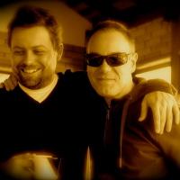 Com o amigo e fotógrafo Lufe Gomes. (2009)