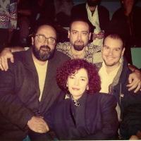 Durante a Fampop, Festival de Avaré, ao lado do compositor Rafael Altério e da cantora Daisy Cordeiro. No Cello, Dimos Goudaroulis